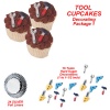 Construction Theme Birthday Party Cupcake Idea – Edible Tools