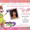 Fancy Nancy Party Invitations