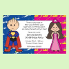 Custom Personalized Birthday Party Invitations for Twins