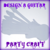 Design your Own Guitar Party Activity