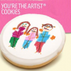 You're The Artist Cookie Party Favors