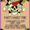 Ed Hardy Party Invitations – Great choice for Tweens