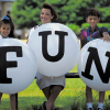 Giant Letter Balloons help you Spell Out Party Fun