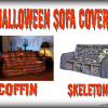 Halloween Sofa Covers – Turn your Sofa into a Coffin in Minutes