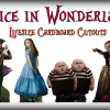 Alice in Wonderland Lifesize Cardboard Cutouts