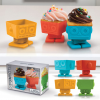 Robot Cupcake Molds called Yumbots