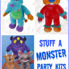 Stuff a Plush Monster Party Activity