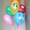 Balloon Face Embellishments