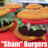 Sham Burgers make a Fun Party Treat for the Kids