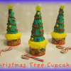 How to Make Christmas Tree Cupcakes using Roundabouts Cupcake Sleeves