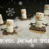 S'mores Snowman Treats are Yummy for all Ages