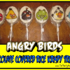 Angry Birds Chocolate Covered Rice Krispy Treat Party Favors