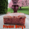 Franken Berry's Strawberry Cake