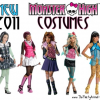 New 2011 Monster High Costumes