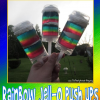How to Make Rainbow Jell-O Push Ups