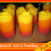 How to Make Sunburst Frozen Jell-O Pudding Push Ups