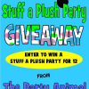 Stuff a Plush Party Giveaway worth over $200 – CLOSED