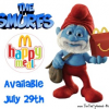 Smurfs Happy Meal Toys coming to McDonalds July 29th
