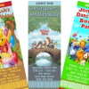 Winnie the Pooh Movie Party Invitations