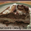 How to Make a Snickers Candy Bar Pie