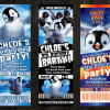 Happy Feet 2 Party Invitations