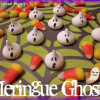 Quick and EASY Mini Meringue Ghosts – NO Baking Required
