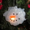 Quick and EASY Melted Snowman Ornament Craft