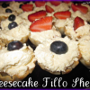 Cheesecake filled Fillo Shells are a Quick and Easy Party Snack