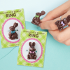 Chocolate Easter Bunny Rings