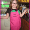 Personalized Chef Apron Review and Giveaway from Tiny Crafts – CLOSED