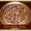 How to Make a Chocolate Pizza