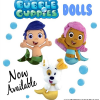 Bubble Guppies Plush Dolls are Now Available