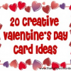20 Creative Valentine's Day Card Ideas you can make