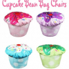 Cupcake Bean Bag Chairs make a SWEET Seat