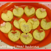 Heart Shaped PB&J Sandwiches using Heart Bread Mold