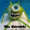 Monsters, Inc Mike Wazowski Apple Snack Tutorial