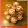 "Paw Print ""LOVE"" Cupcakes ~ Perfect for Valentine's Day"