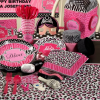 Diva Zebra Print Party Supplies