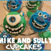 How to Make Mike and Sully Cupcakes