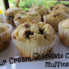 Sour Cream Chocolate Chip Muffin Recipe