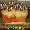 How to Make Fudge Covered Oreo Owl Cookie Pops