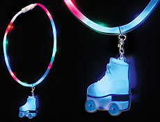 Rollerskate Glow Necklace