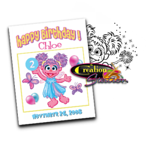 abby cadabby custom personalized coloring book