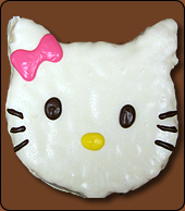 Hello Kitty Chocolate Covered Rice Krispy Treat