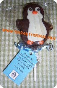 Penguin Party Favor