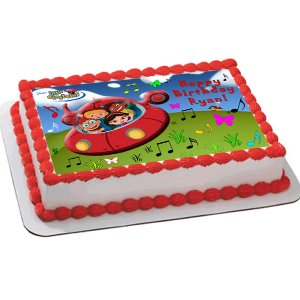 little einsteins birthday cake