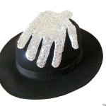 Fedora Hat and Sequin Glove