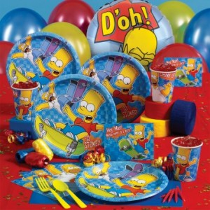 Simpsons Deluxe Party Pack