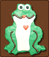 Frog Kiss chocolate covered rice kripsy treat