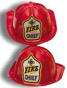 fire chief party hat